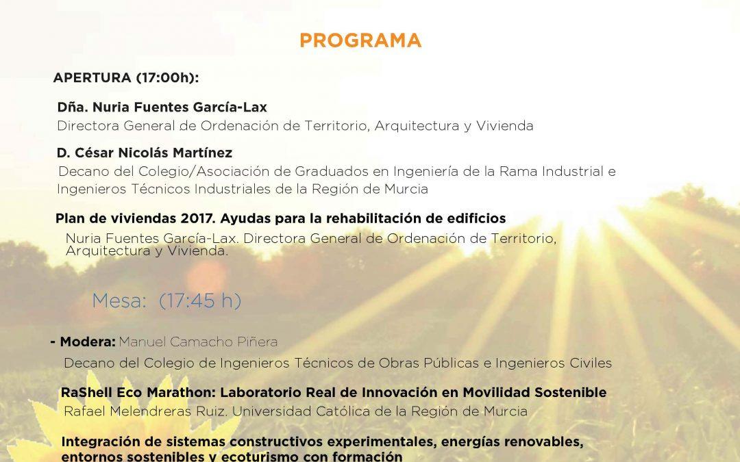 Construcción y Movilidad Sostenible- INNPULSA 2017, jornada 4 de Mayo