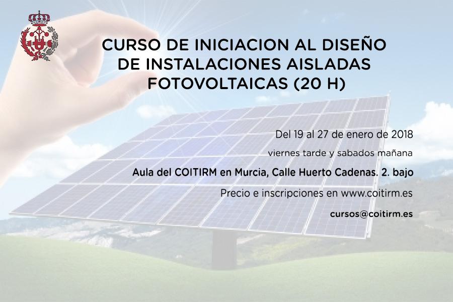 En unos días dará comienzo el primer curso de Fotovoltaica del año 2018 impartido por Efficiency.