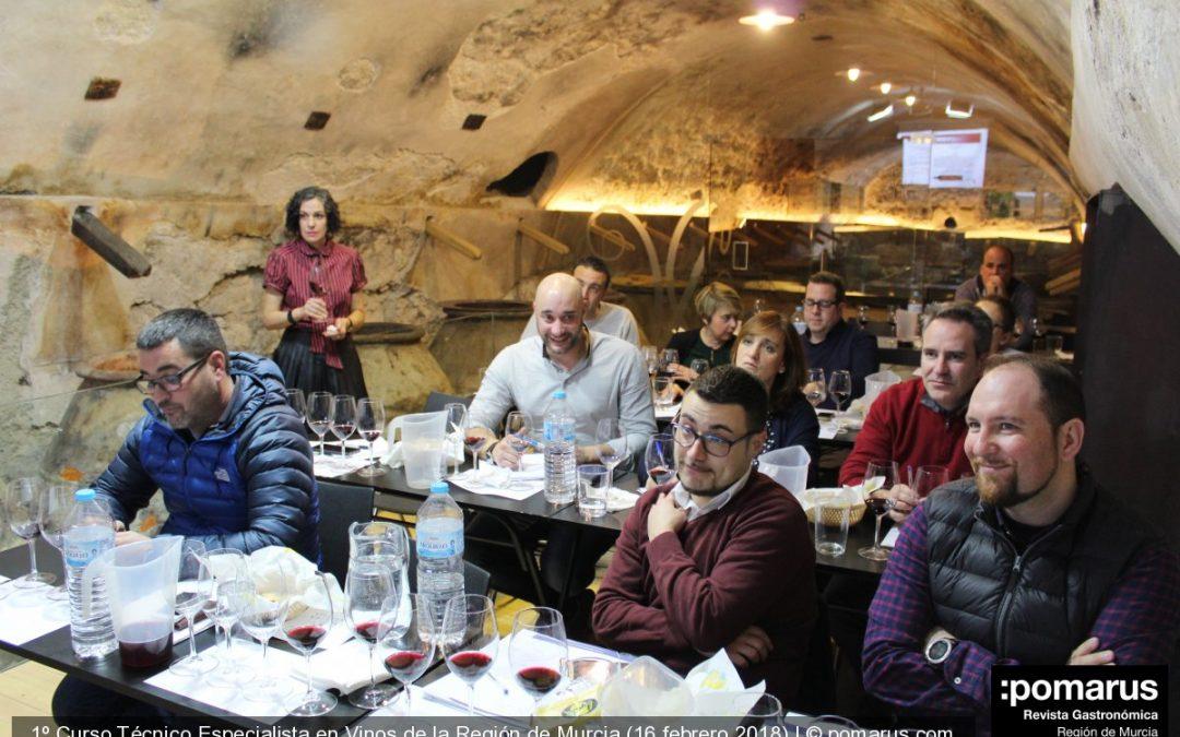 Vibrante la última jornada del I Curso Técnico Especialista en Vinos de la Región de Murcia