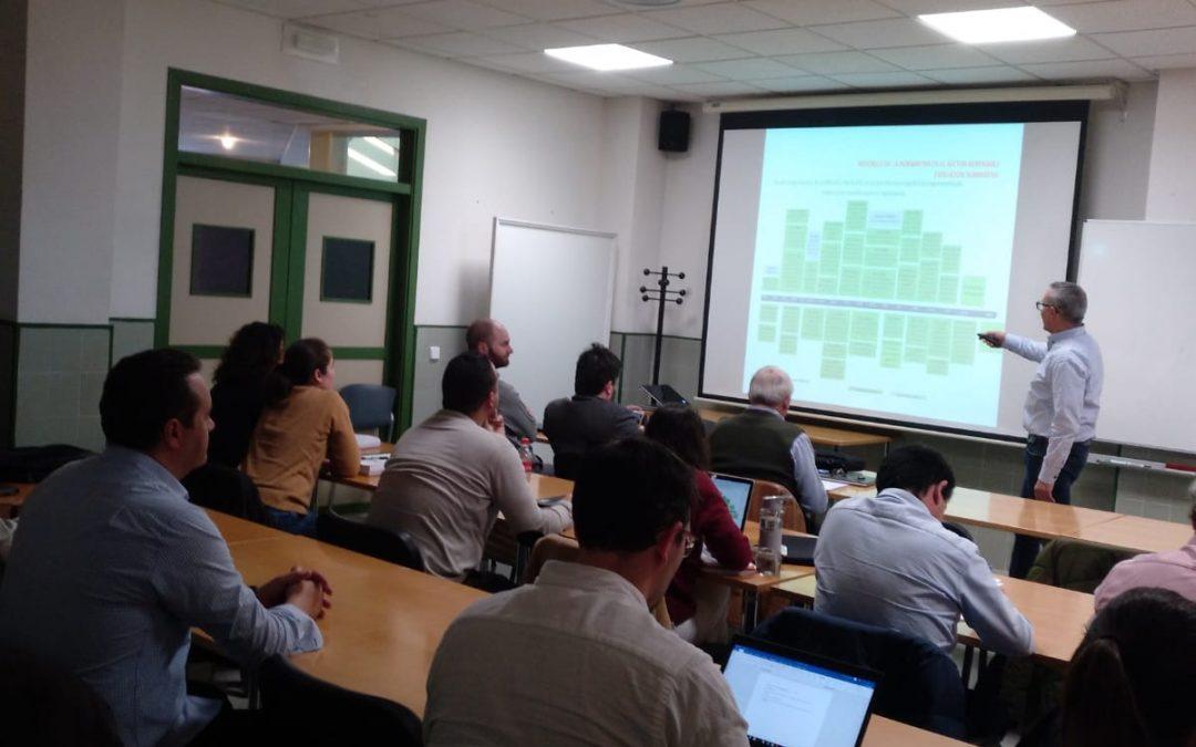 Efficiency Services Consulting impartió el curso «Diseño Instalaciones Solares Fotovoltaicas» en el Campus de Guadalajara de la Universidad de Alcalá de Henares los días 20, 21 y 22 de febrero.