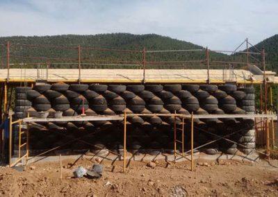 Muro de neumáticos